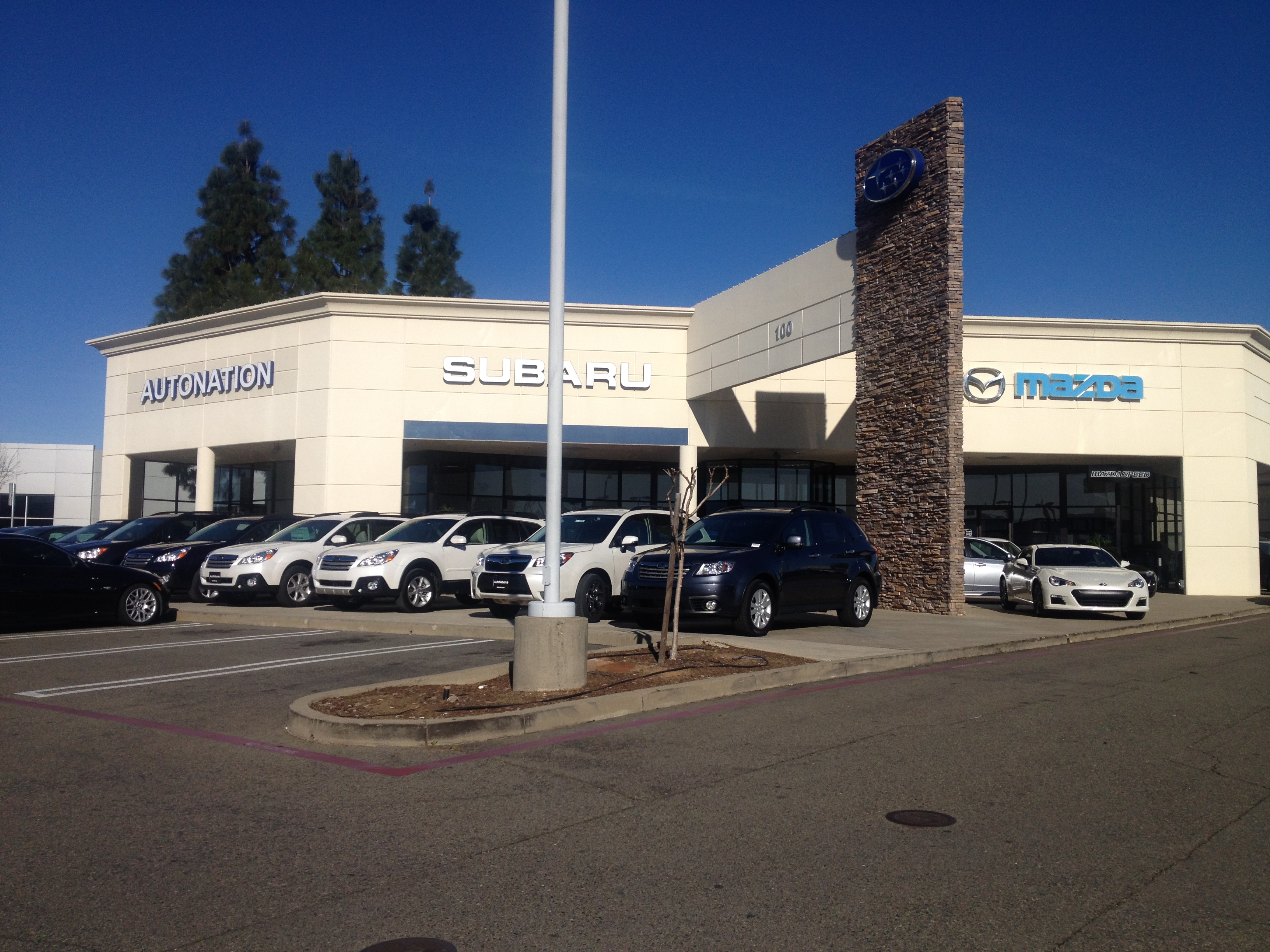 AutoNation Mazda Roseville Service Center 100 Automall Drive Suite A