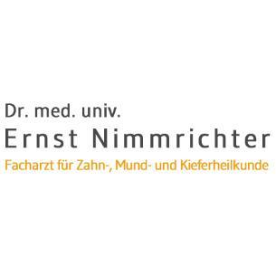 Dr. med. univ. Ernst Nimmrichter Logo