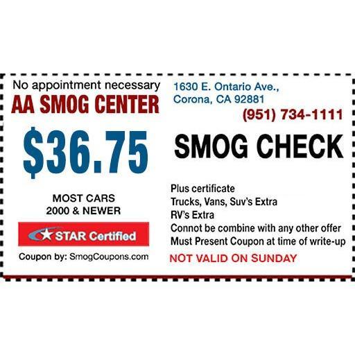 AA Smog Center