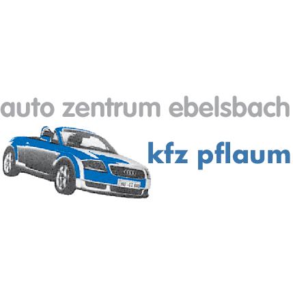 Logo von Auto Zentrum Ebelsbach Kfz Pflaum