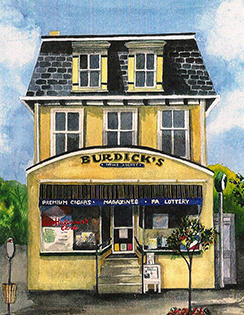 Burdick's Hatboro News Agency image 0