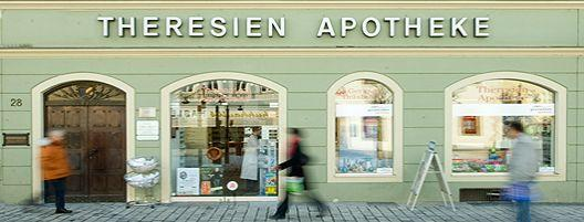 theresien apotheke ffnungszeiten theresien apotheke theresienplatz. Black Bedroom Furniture Sets. Home Design Ideas
