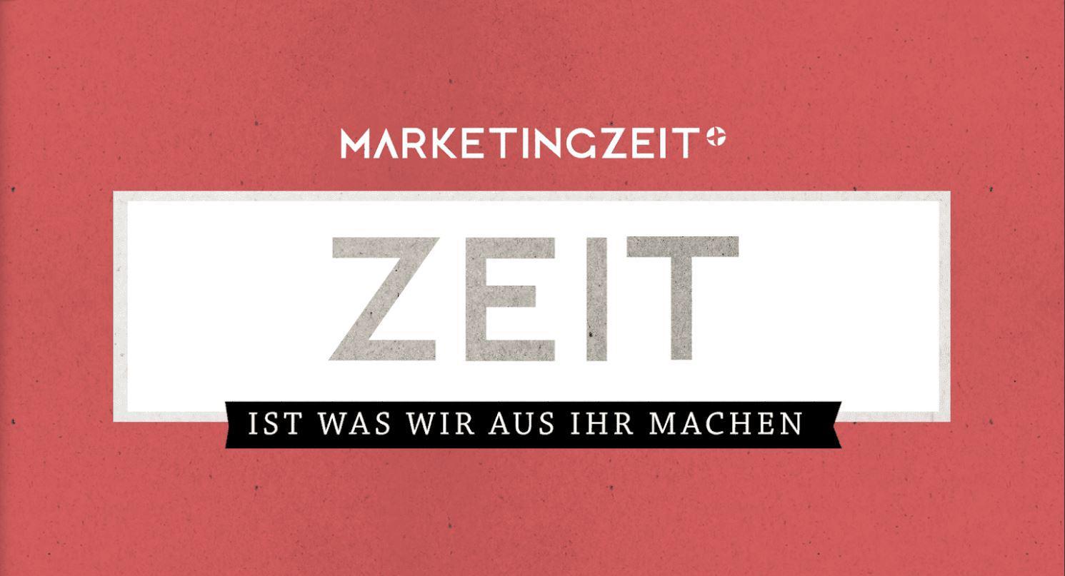 Werbeagentur Marketingzeit GmbH Slogan