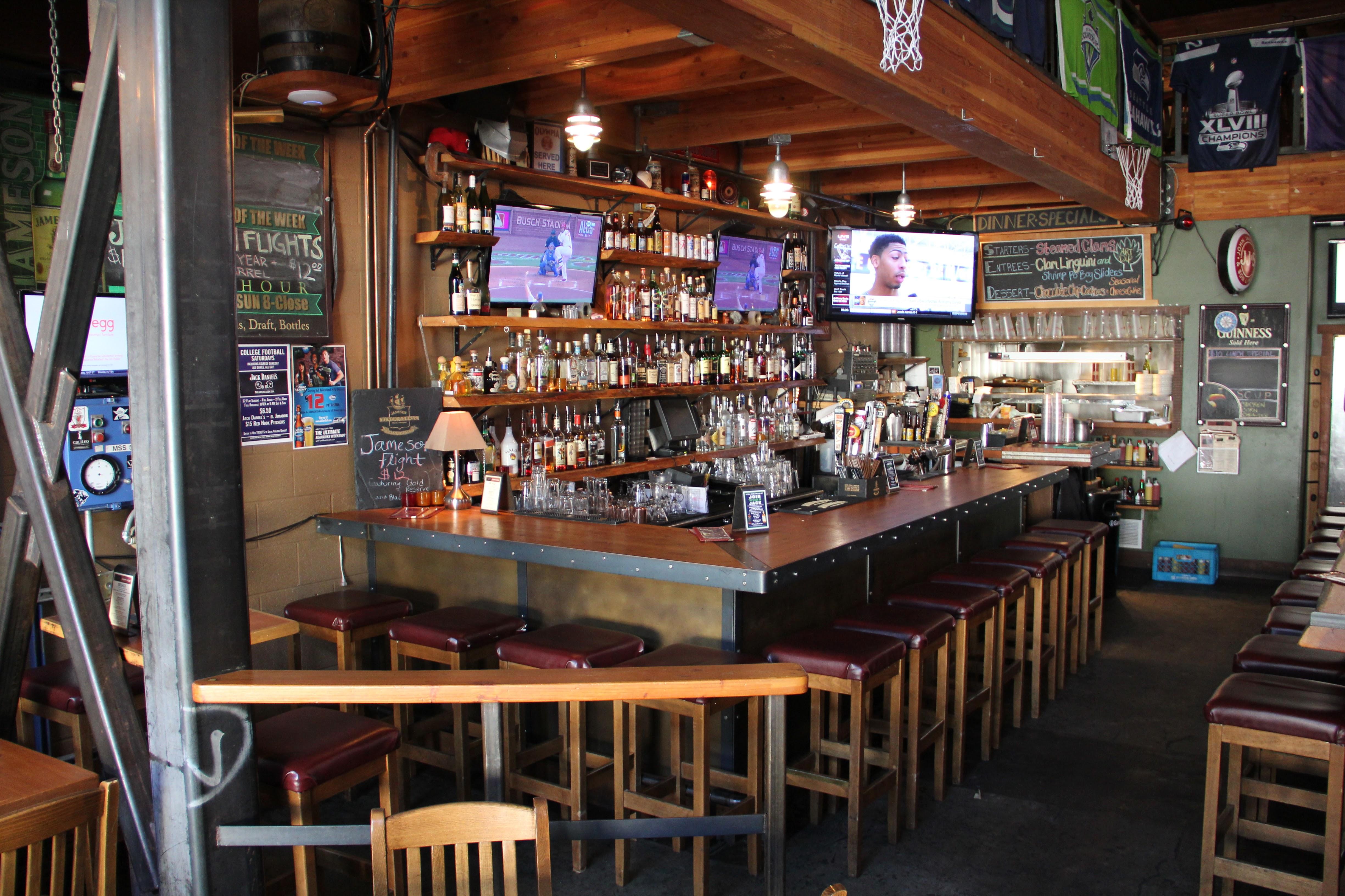 Ballard loft restaurant sports bar seattle wa