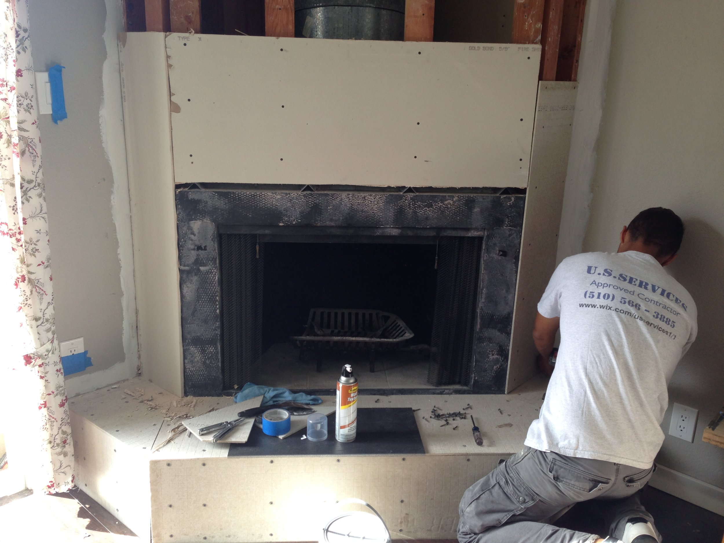 Fireplace Work
