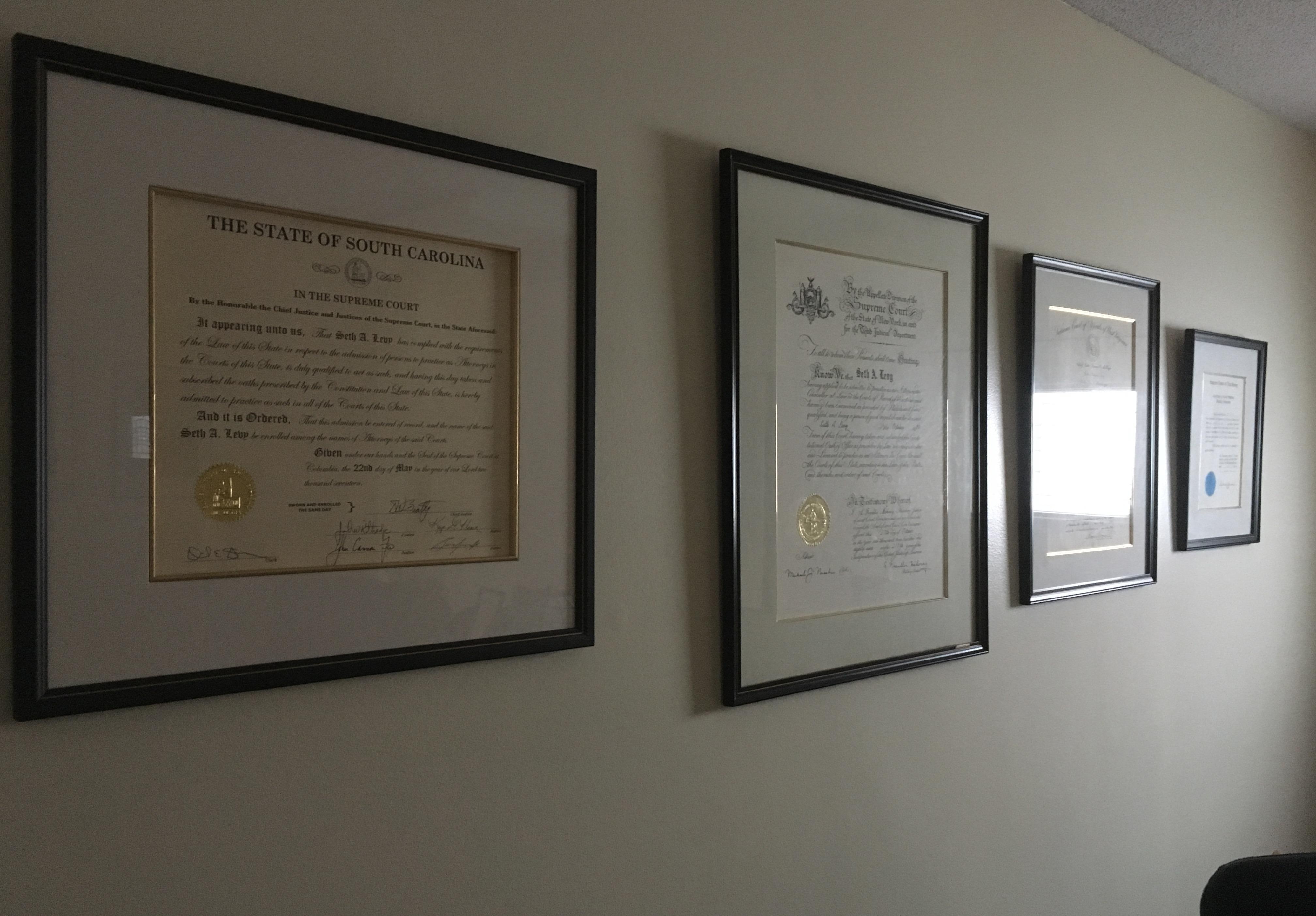 Law Office of Seth A. Levy, LLC image 0