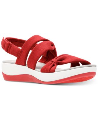 d0a2364e5cfec Url  https   www.macys.com shop product clarks-collection-womens -cloudsteppers-arla-mae-wedge-sandals ID 5116366