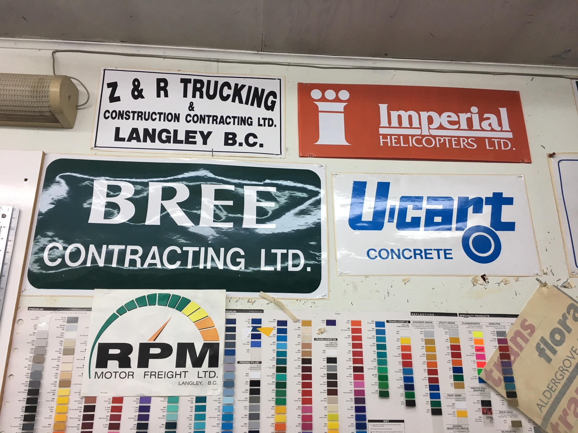 Kitsul Sign & Display Ltd in Langley