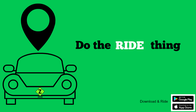 Do the RIDE thing !