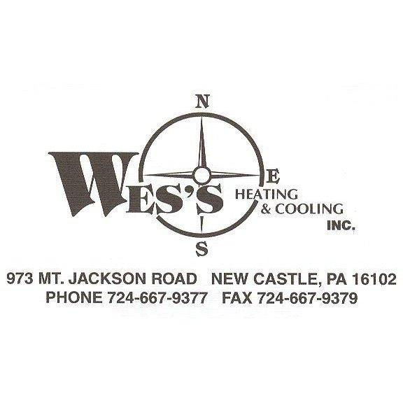 Wes's Heating & Cooling - New Castle, PA - Heating & Air Conditioning