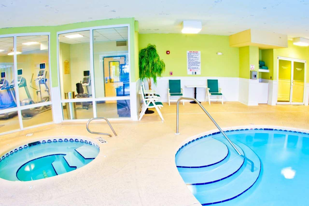 Indoor Pool Whirlpool