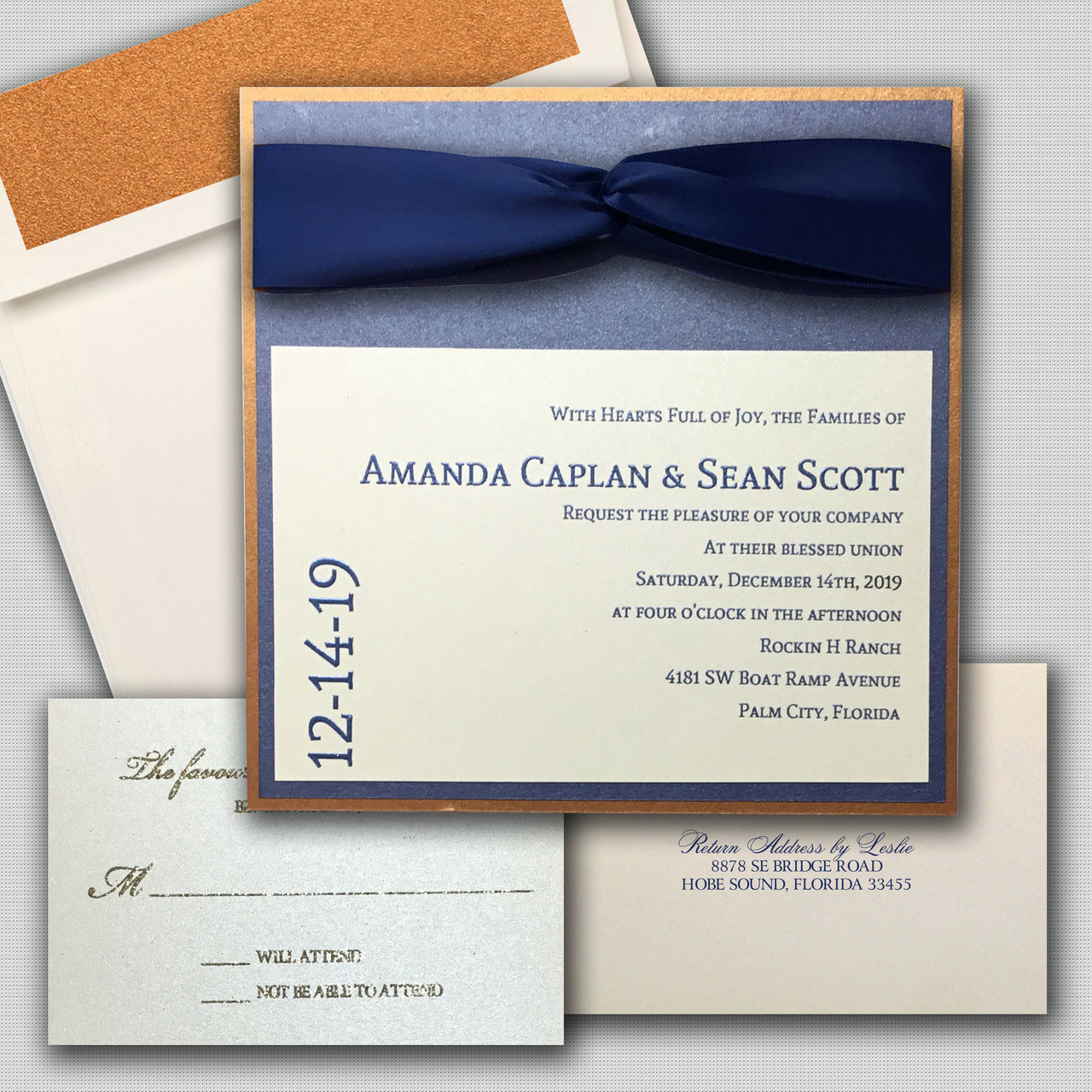 Leslie Store Wedding Invitations & Stationery image 15