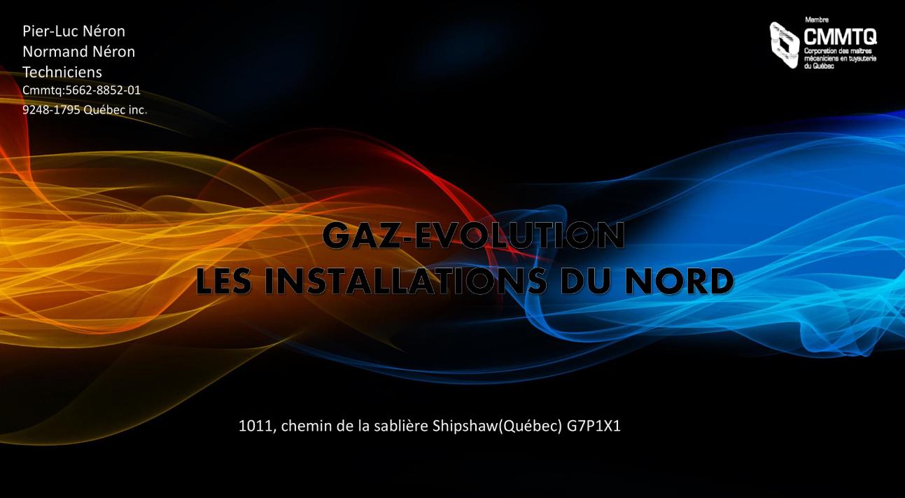Les Installations Du Nord Gaz Evolution