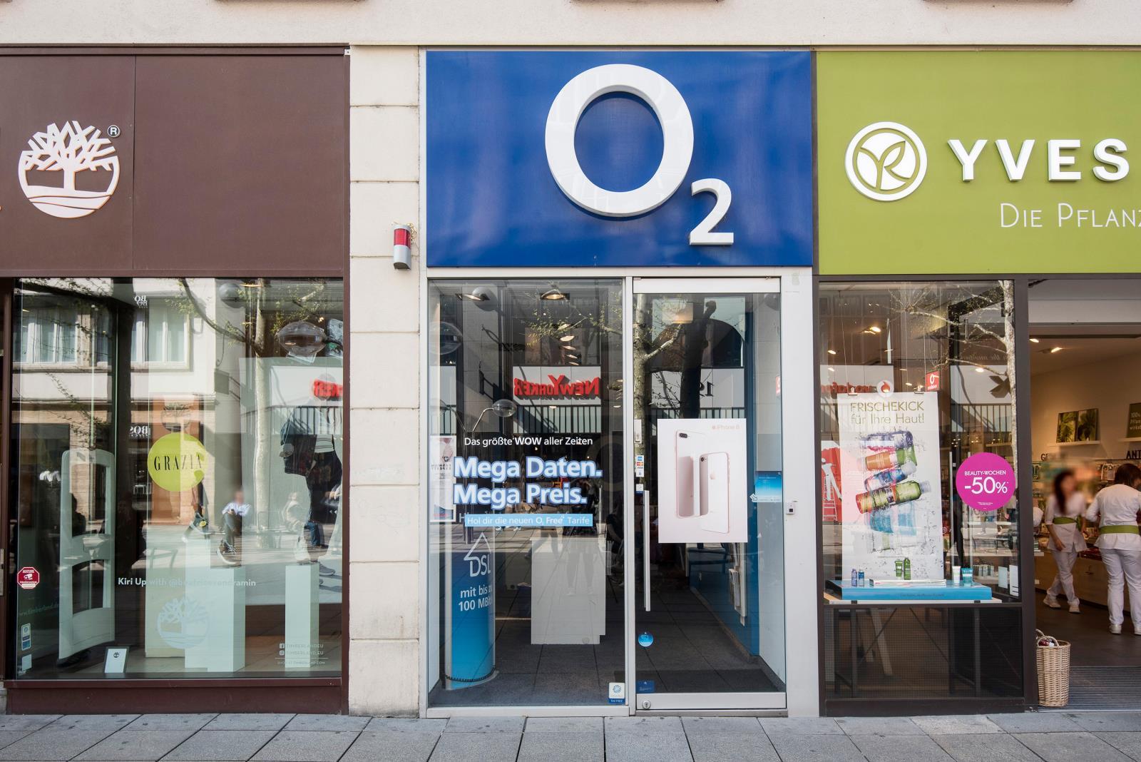 o2 Shop, Königstr. 40 in Stuttgart