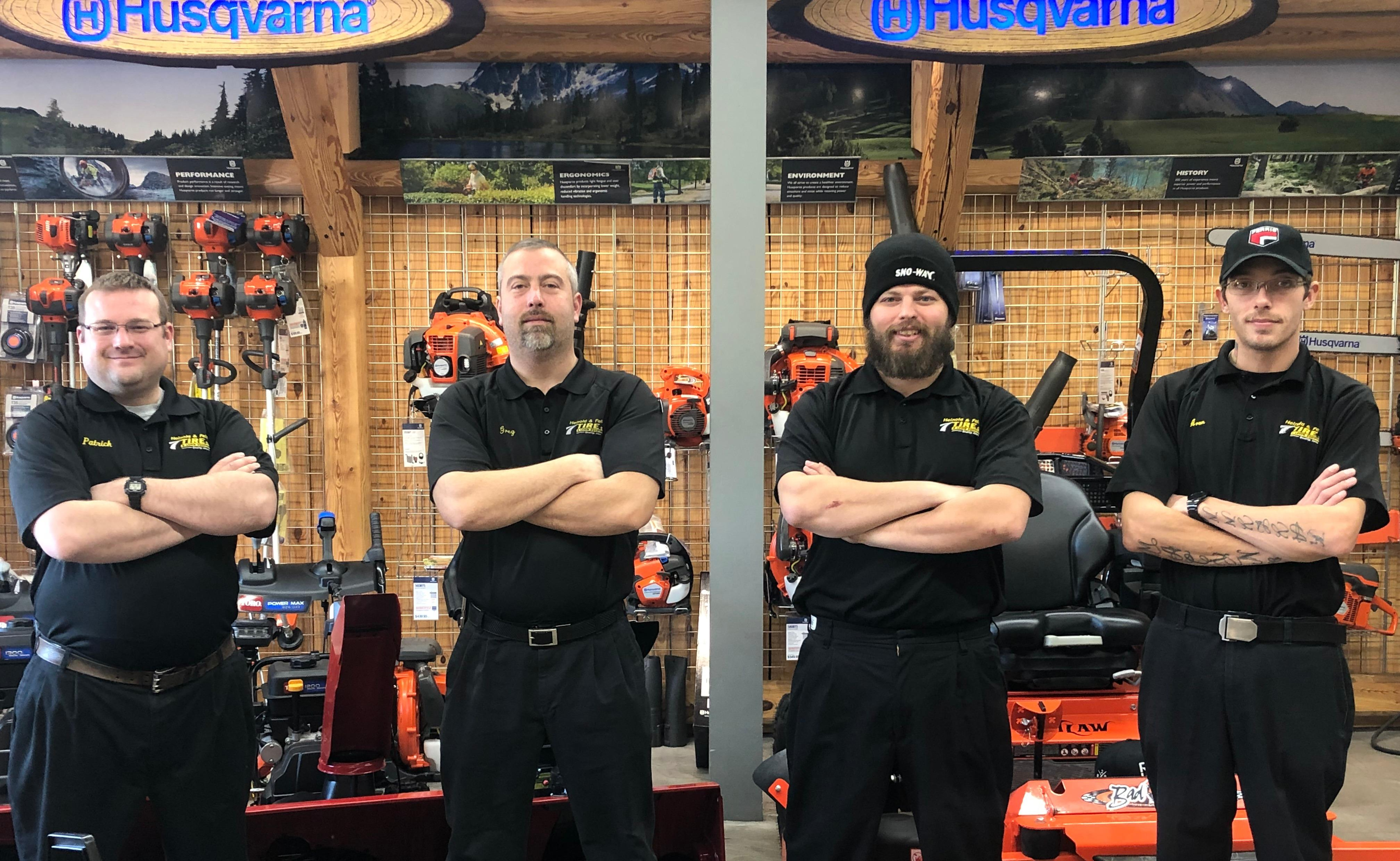 Heinold & Feller Tire & Lawn Equipment image 1