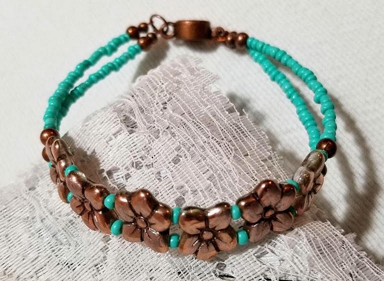 Handmade Beaded Jewelry Handcrafted - Unique image 1