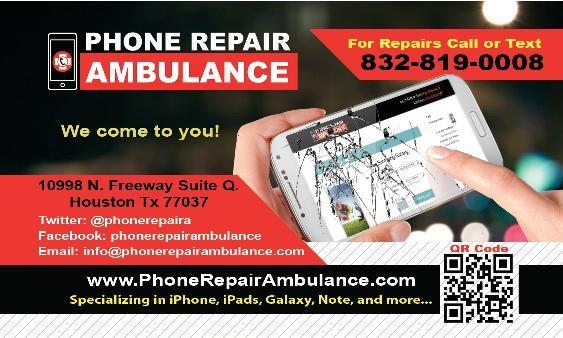 Phone Repair Ambulance