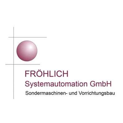 Logo von Fröhlich Systemautomation GmbH Sondermaschinen- und Vorrichtungsbau