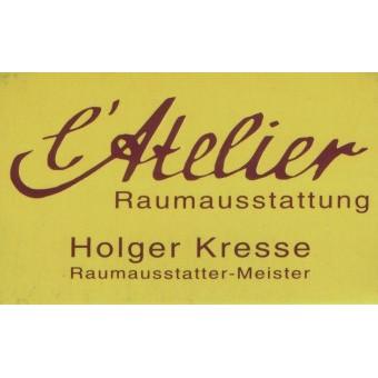 Logo von Holger Kresse l'Atelier Raumausstattung