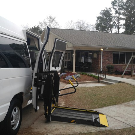 It's a beautiful day for wheelchair transportation from Pruitt Healthcare in Covington. One of our favorite facilities to visit. #WheelchairTransportation