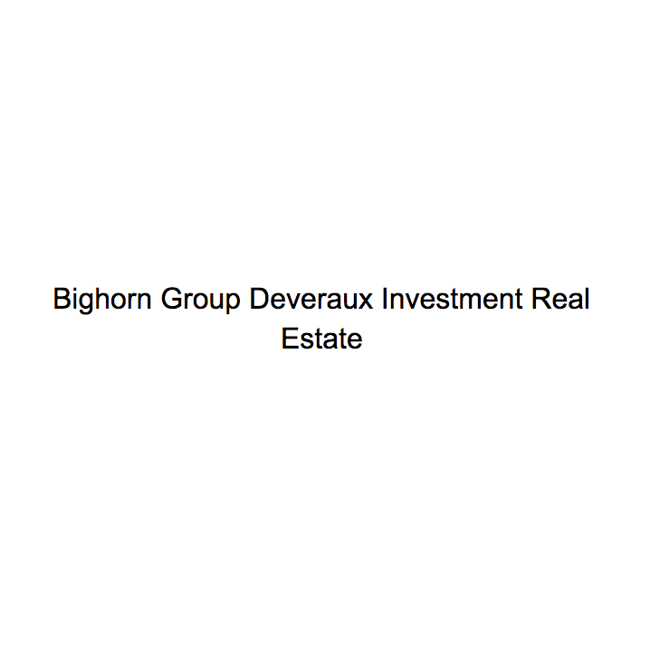 Bighorn Group Deveraux Investment Real Estate
