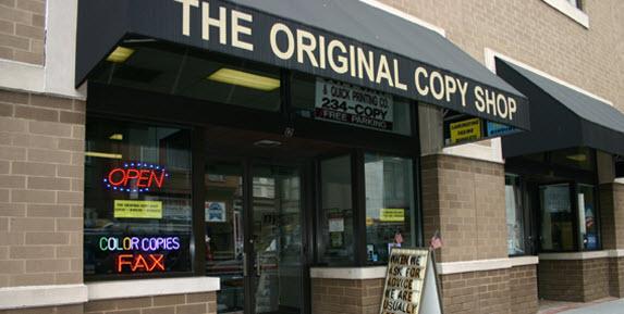 The Original Copy Shop - ad image