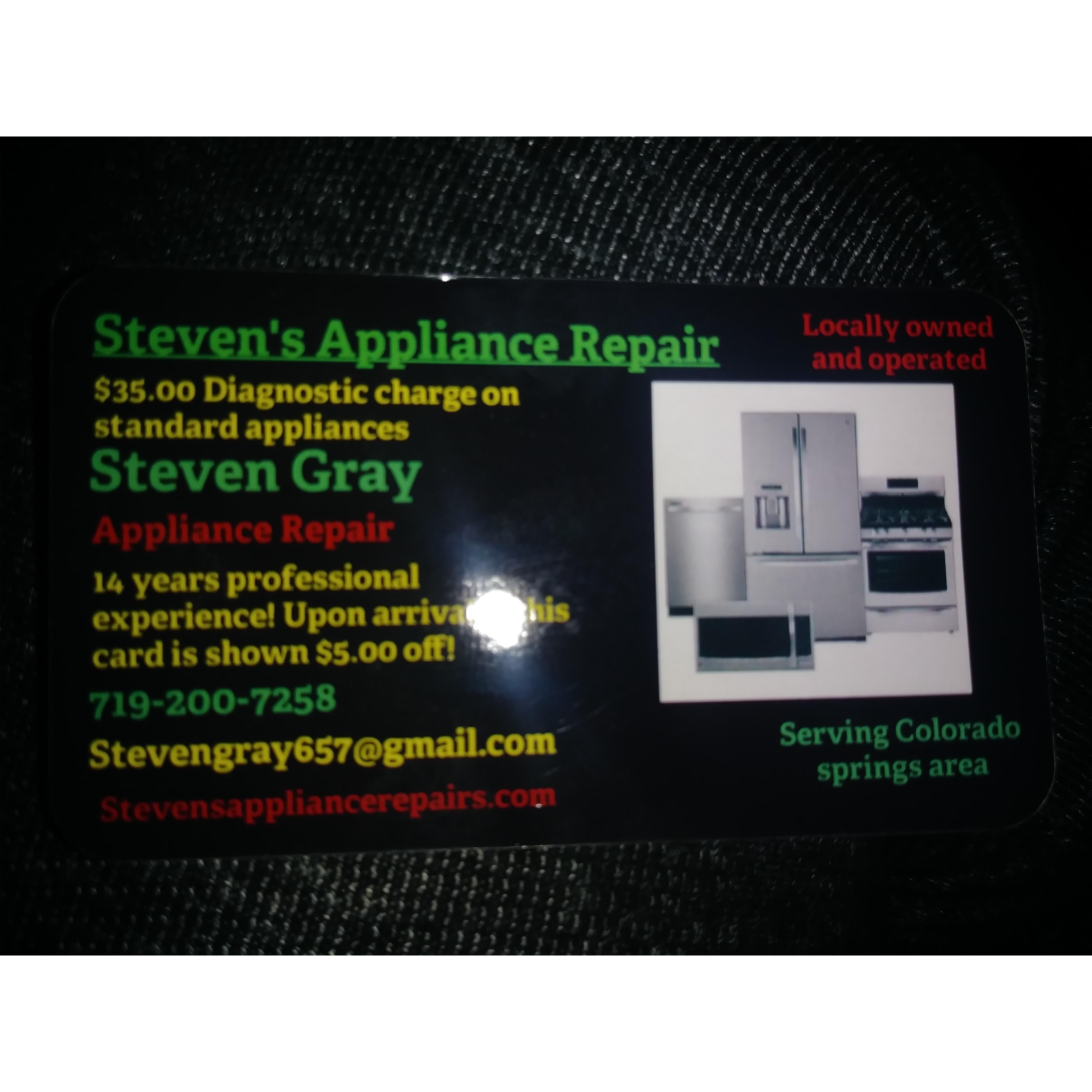 Stevens appliance repair