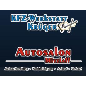 Logo von KFZ-Werkstatt Krüger - Autosalon Mitzlaff - US Cars - Yachtpolierung - Autoaufbereitung