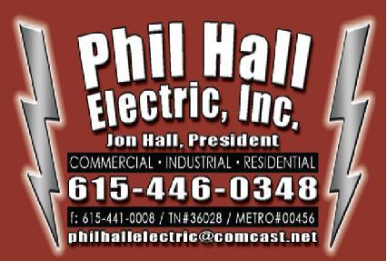 Awesome Phil Hall Electric Dickson Tn