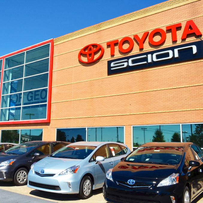 Jim Click Hyundai Auto Mall >> AutoNation Toyota Mall of Georgia at 3505 Buford Drive, Buford, GA on Fave
