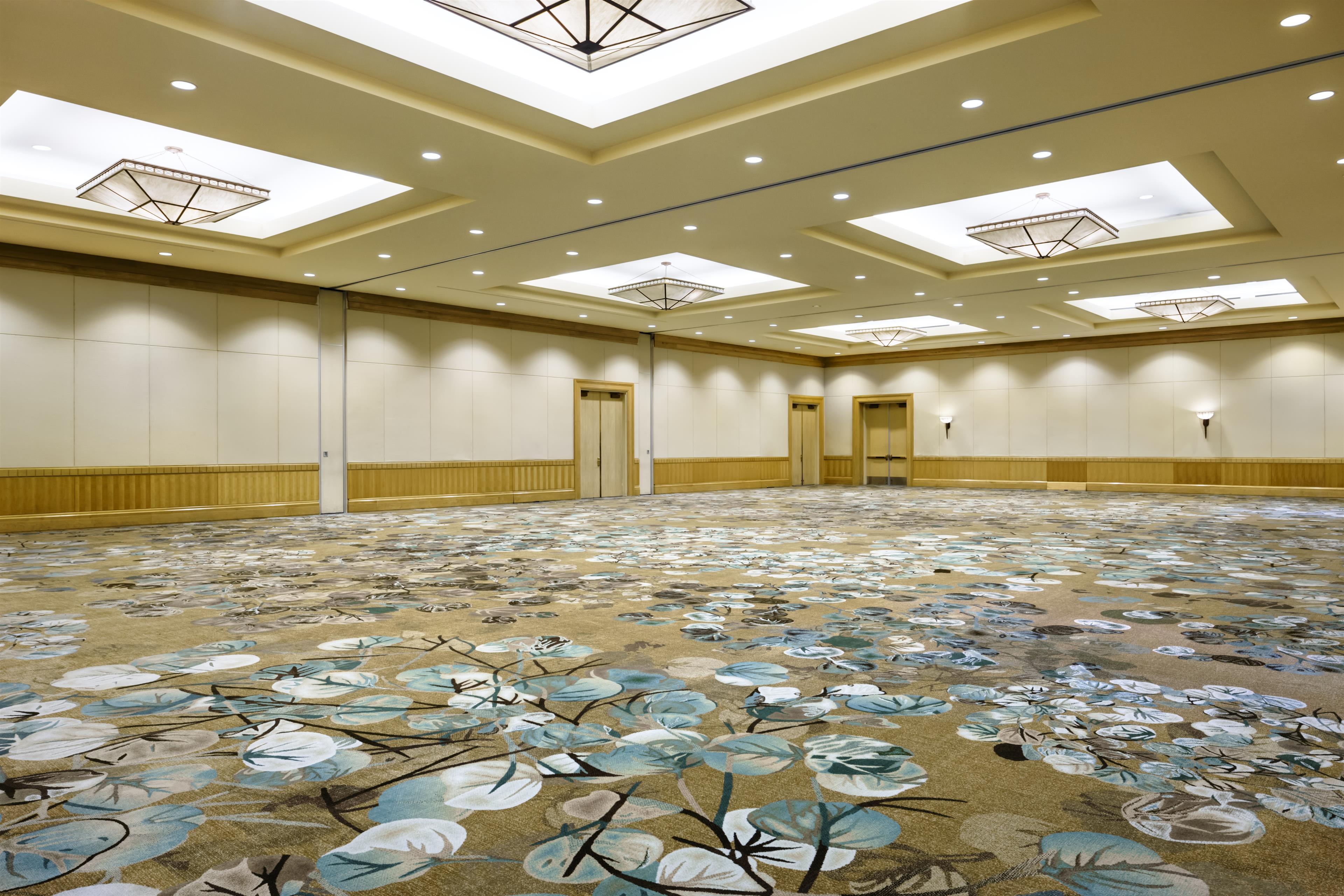 The Westin Bayshore, Vancouver in Vancouver: Stanley Park Ballroom empty