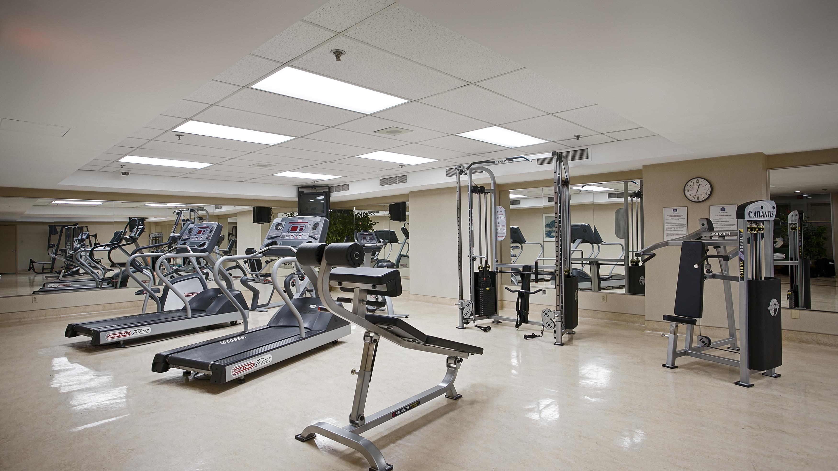 Best Western Ville-Marie Montreal Hotel & Suites à Montreal: Fitness Center