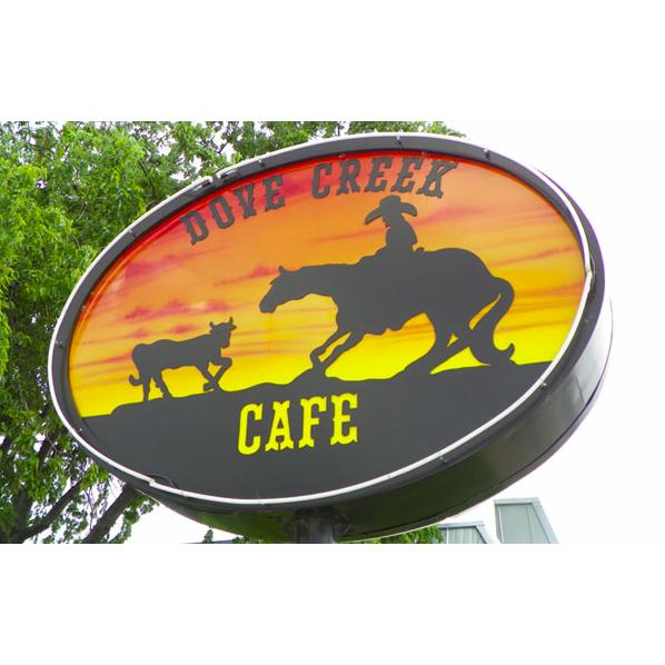 Dove Creek Cafe Menu