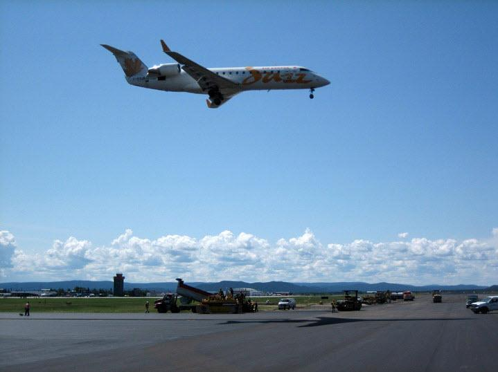Béton Provincial Ltée à Rimouski: Aéroport de Goose Bay (Labrador)