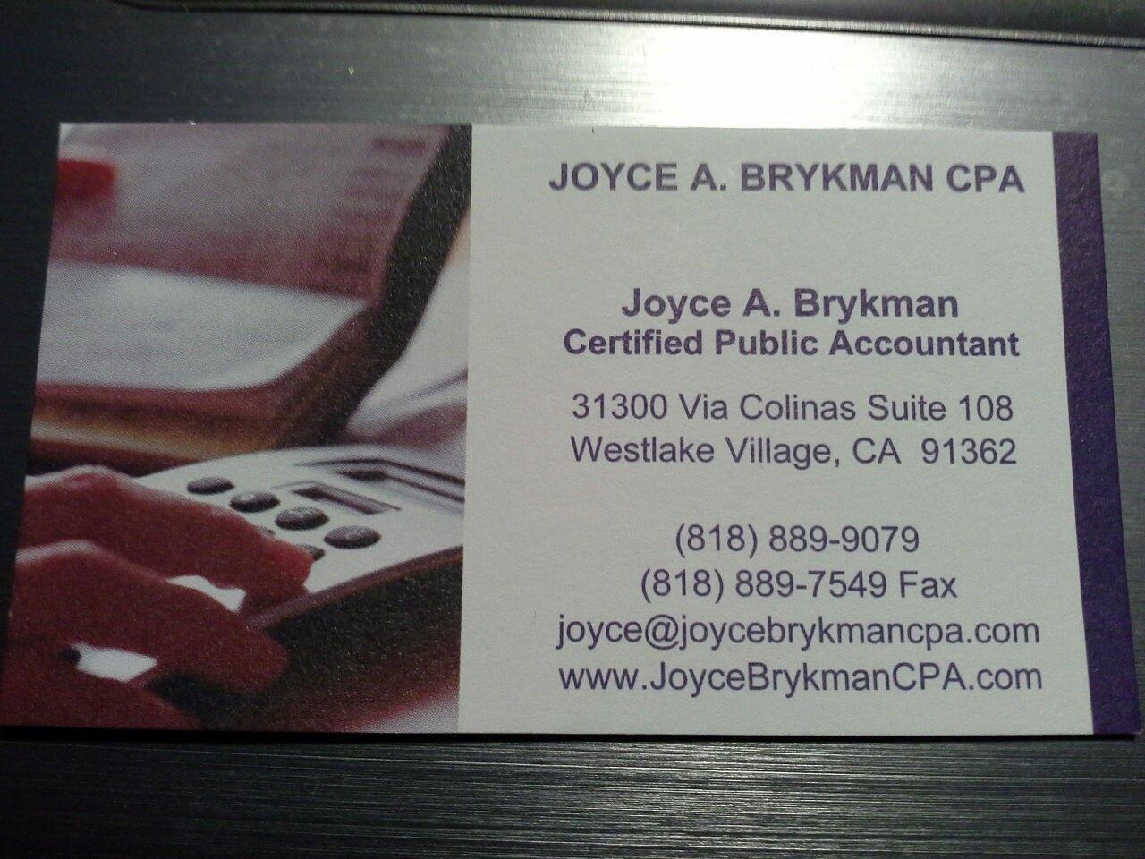 Joyce A. Brykman CPA image 1