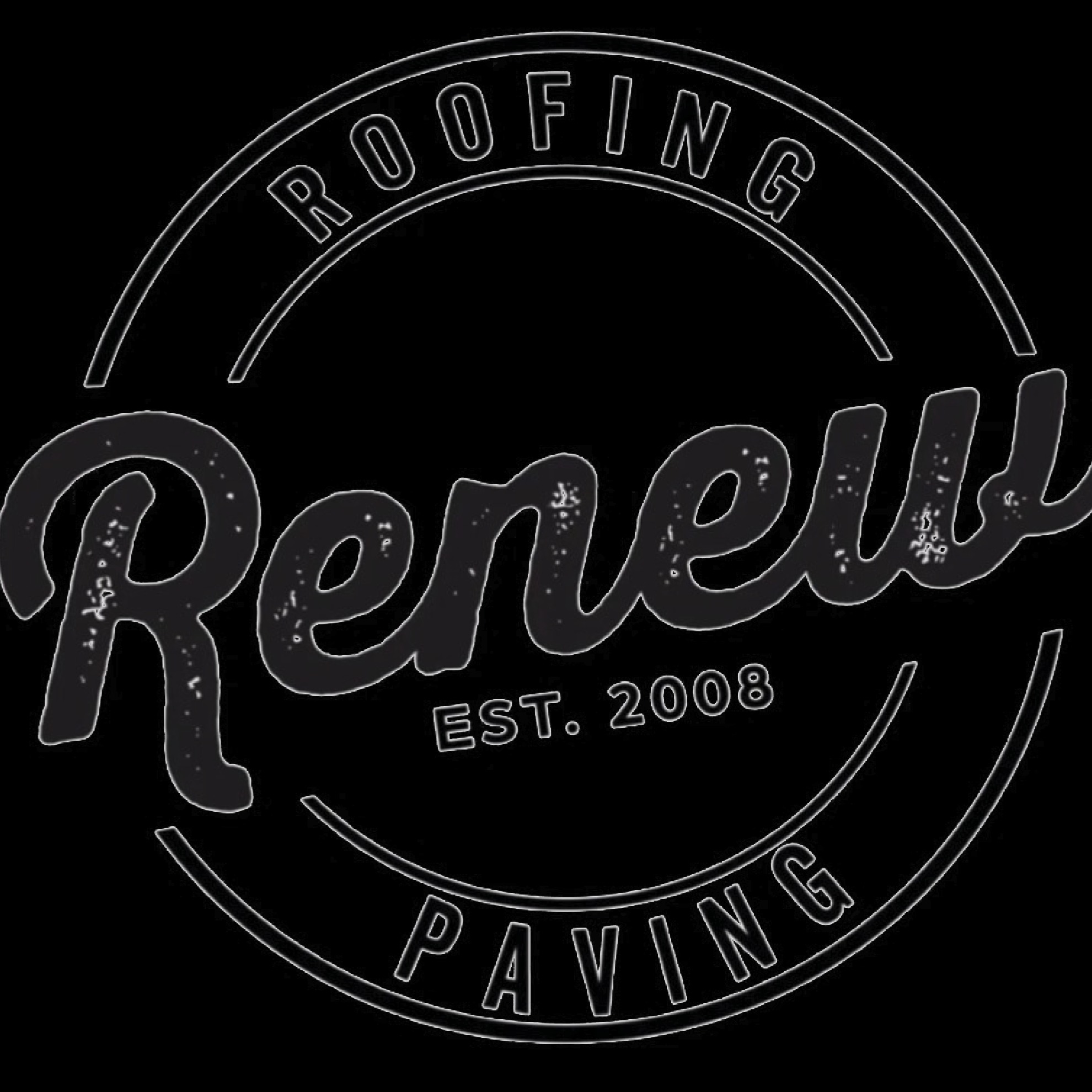 RENEW ROOFING AND PAVING Logo