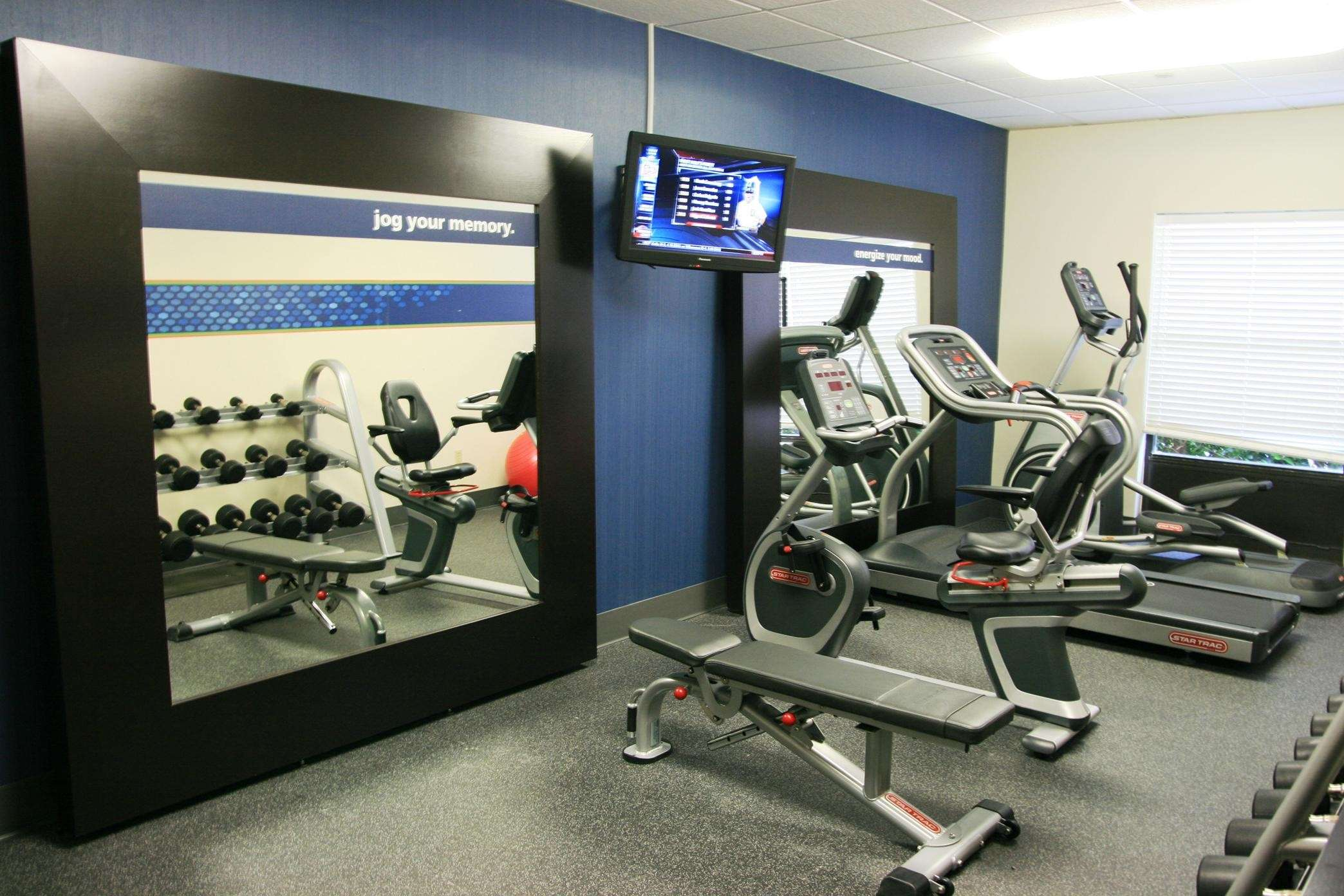 Fitness Room Treadmills and Weights
