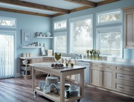 Faux-Wood Blinds Available at MITS!