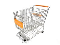 Orange Dreamkeeper Shopping Cart