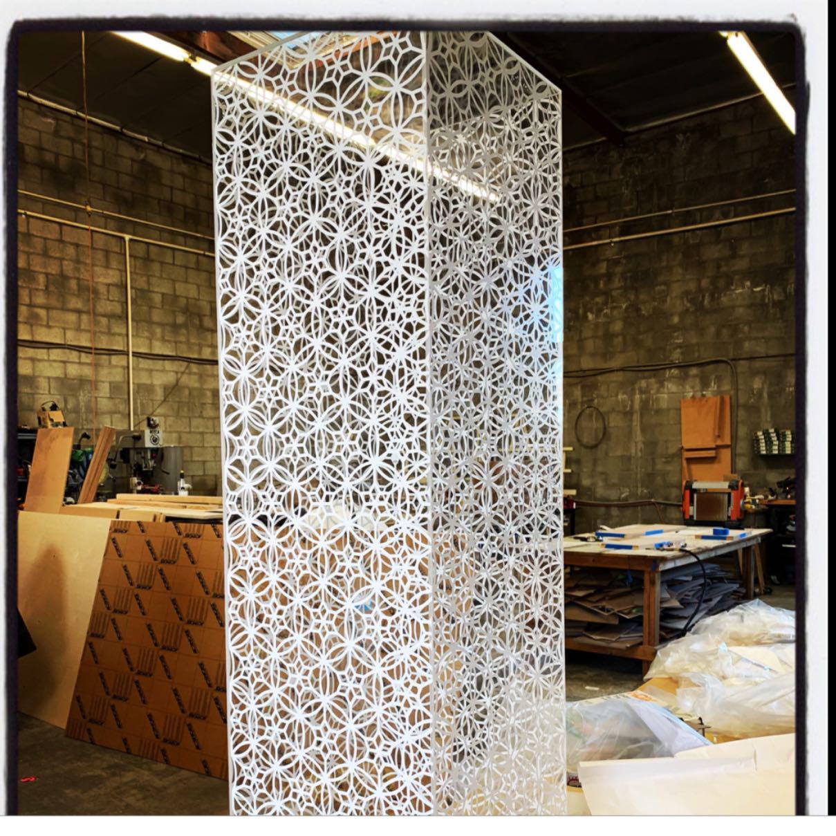 Graphic Spider / Custom Acrylic Fabrication image 14