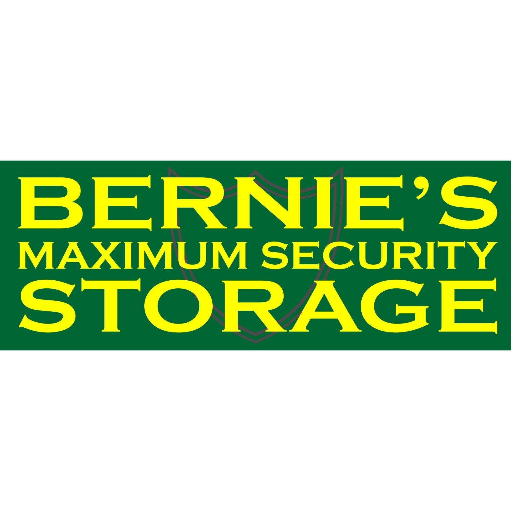 Bernie's Maximum Security Storage
