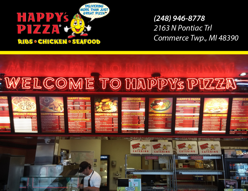Happy S Pizza In Commerce Township Mi Whitepages