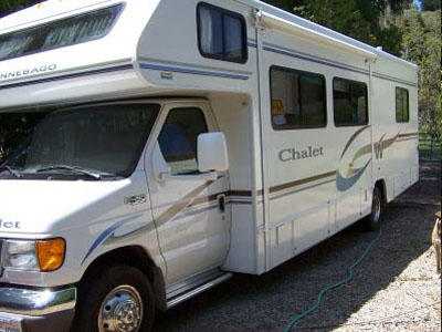 Bill enyeart motorhome rental sacramento california for California department of motor vehicles sacramento