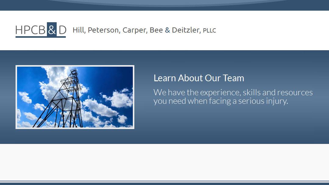 Hill, Peterson, Carper, Bee & Deitzler, PLLC image 0