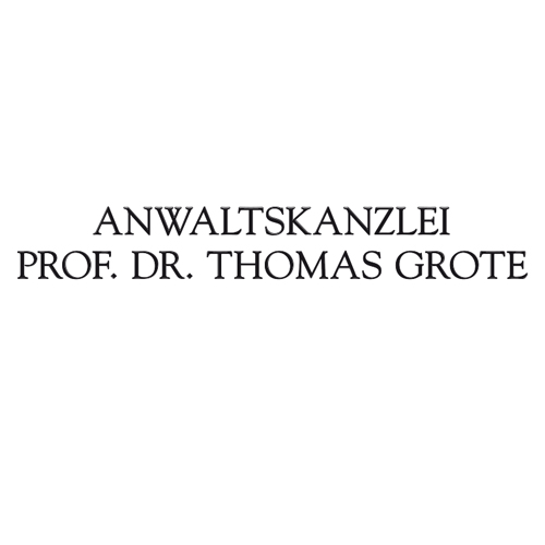 Prof. Dr. G. Hartstang, Dr. Th. Grote