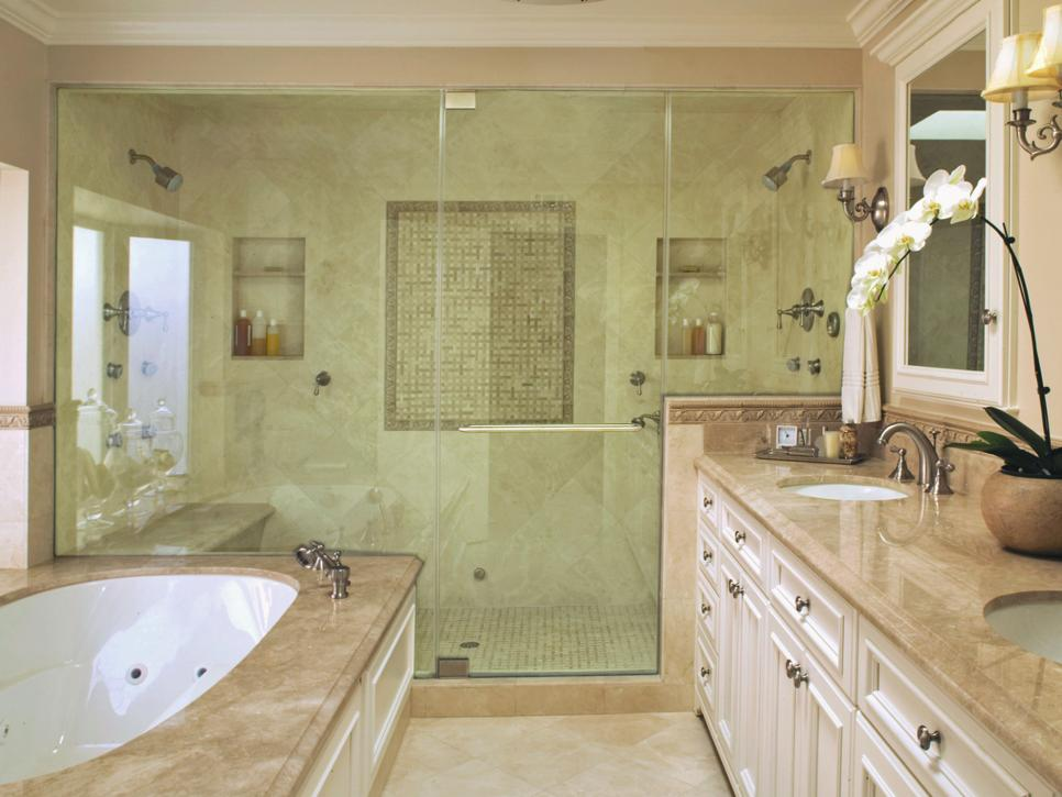 Stone and Water Bathroom Remodeling image 2