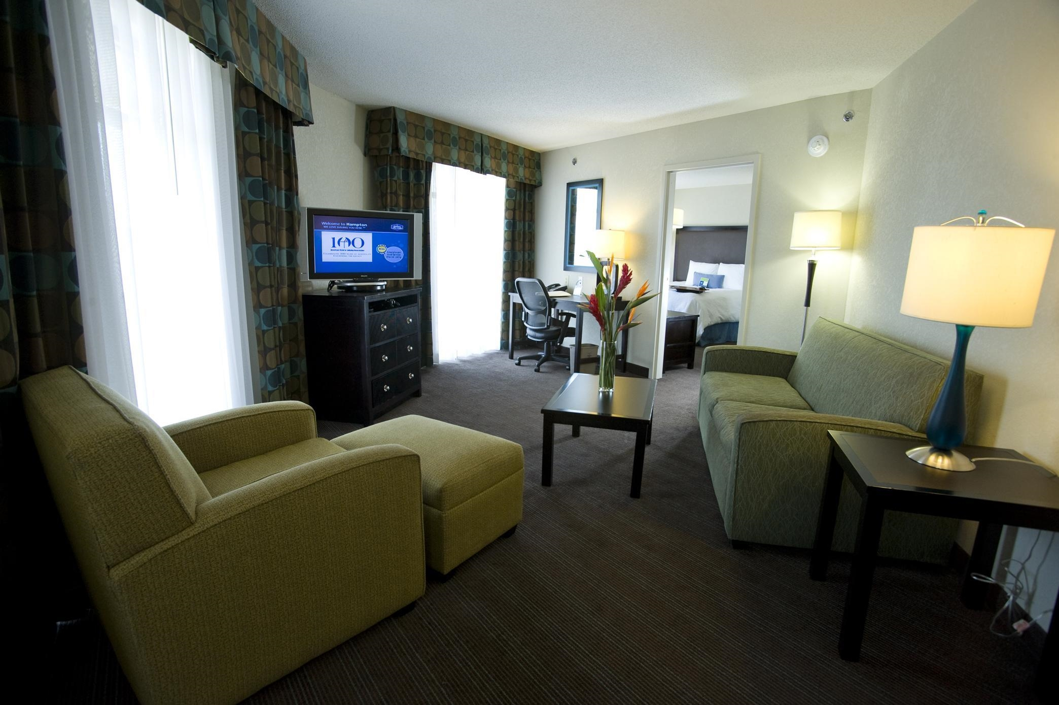 1 King Bed - 2 Room Suite