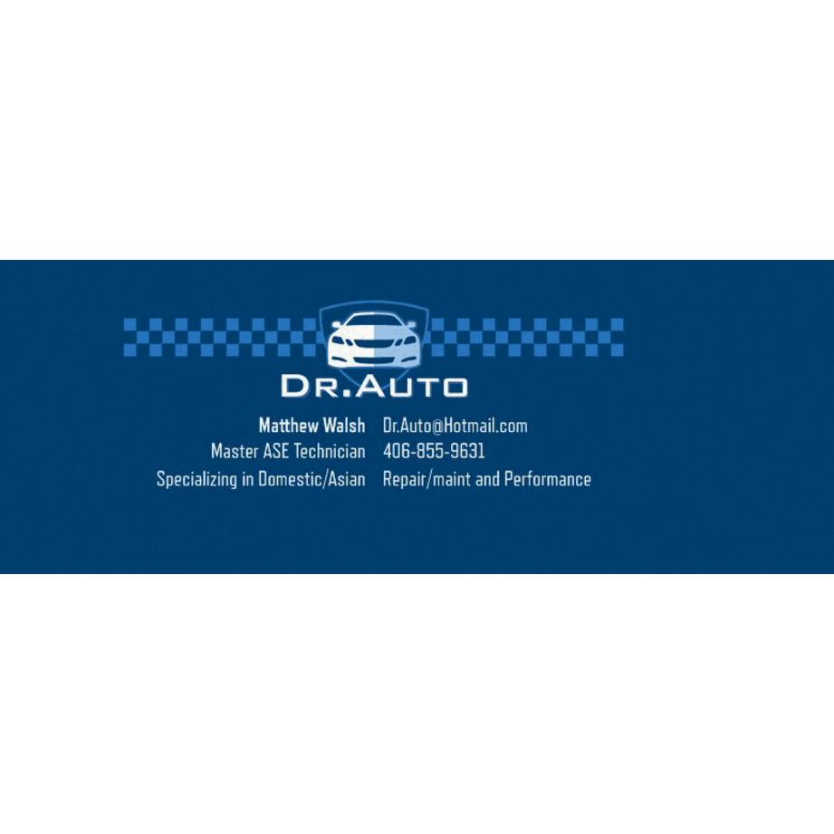 Auto Repair Shop in MT Billings 59101 Dr. Auto LLC 101 Serise Road Unit K  (406)855-9631