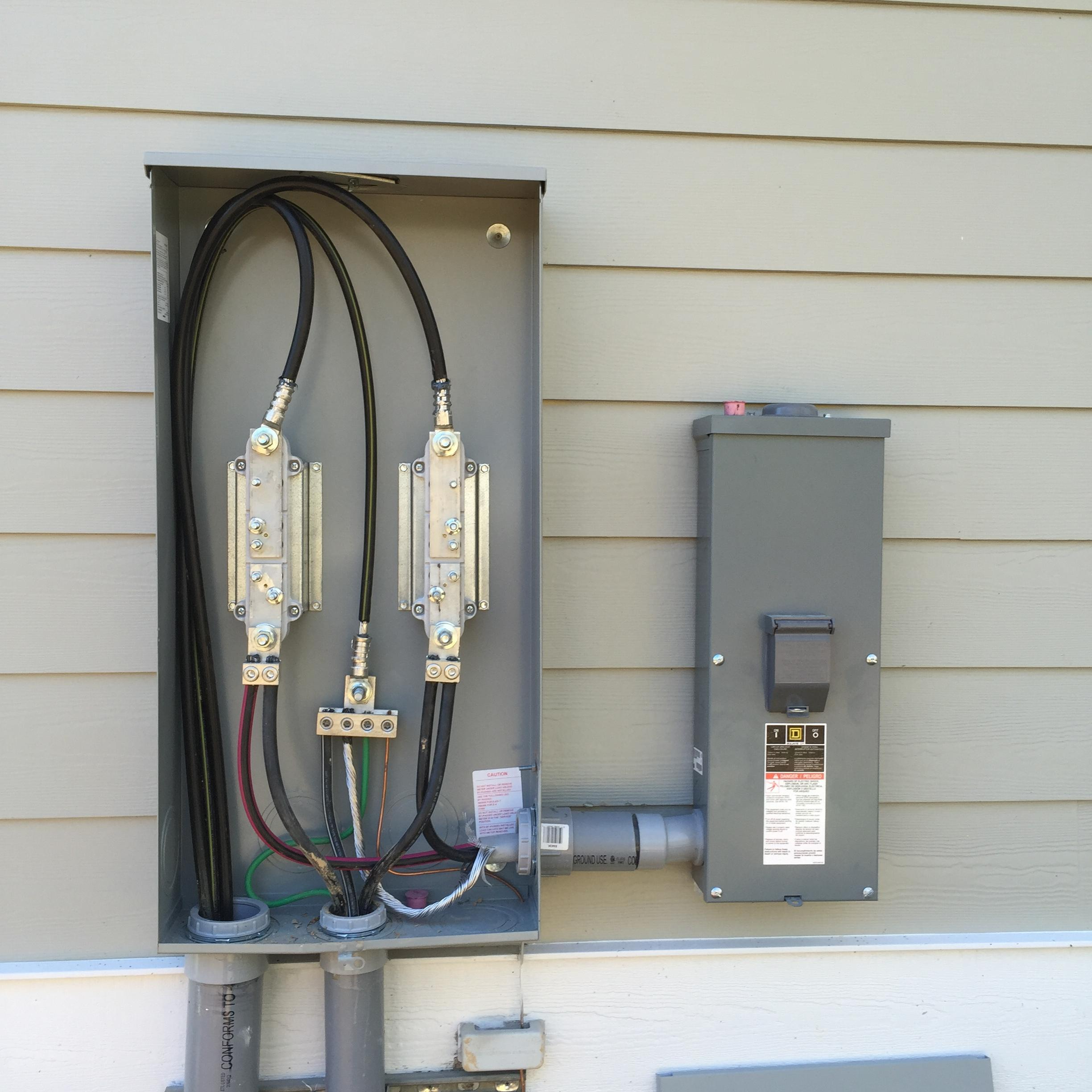 Wiring a 400 amp service wiring a 200 amp service meter to panel mr electric electrical contractors south carolina mr electric electrical contractors south carolina wiring a 100 amp service aluminum wire wiring a 400 greentooth Image collections