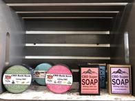 We also have CBD infused soaps for relaxation!